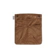 101509 BRN detachable pocket