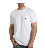 ORCE™ Cotton S-Sleeve T-Shirt White