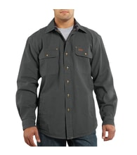 100590 Weathered Canvas Shirt Jac