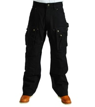 EB219 Duck Multi Pocket Tech Pant BLK