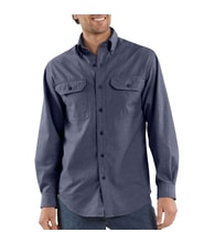 S202 DBC Long-Sleeve Chambray Shirt