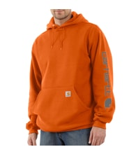 K288ORG Midweight Signature Sleave Logo Hooded Swearshirt