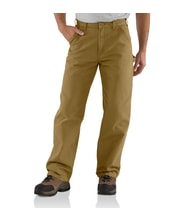 EB011 Washed Duck Work Pant dark khaki