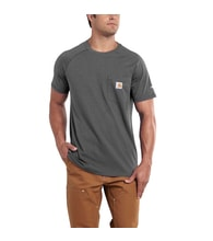 100410 Men's FORCE™ Cotton S-Sleeve T-Shirt Carbon Heather