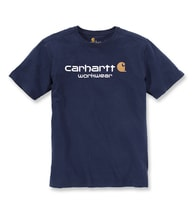 101214 Core Logo S-Sleve T-shirt Navy
