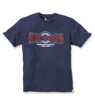 102095 Maddock Work Crew S-Sleve T-shirt Navy