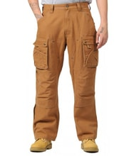 Kalhoty Carhartt - EB219BRN Double Front Work Pant