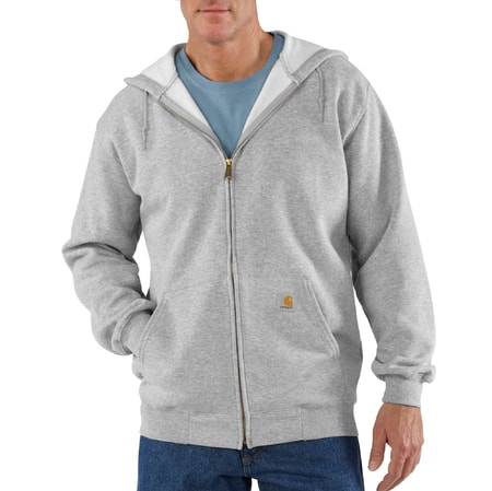 Mikina Carhartt - K122HGY  Midweight Hooded Zip-Front Swearshirt