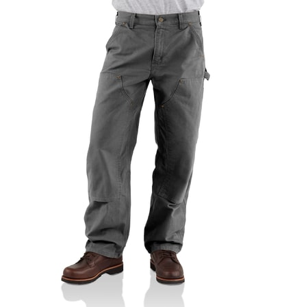 eb136 double front work pant Gravel