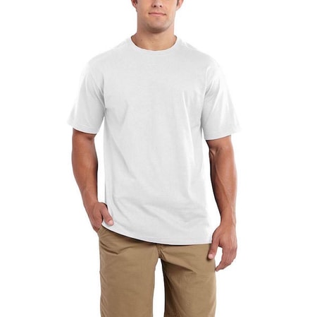 101124 Maddock S-Sleve T-shirt White