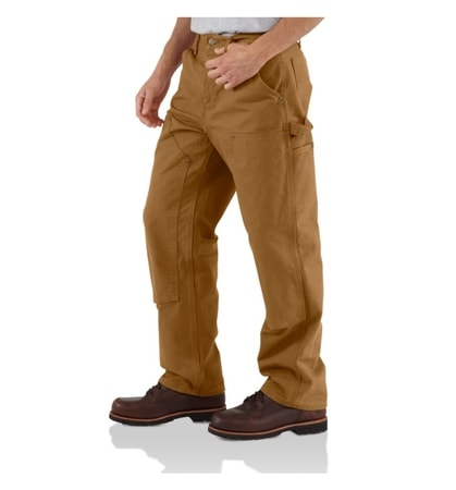 EB136BRN Double Front Work Pant