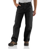 Kalhoty Carhartt - EB011BLK Washed Duck Work Pant