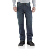 Carhartt jeans - 100612 Relaxed Fit WorkFlex Linden Jeans  Rustick Worn