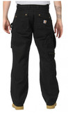 Kalhoty Carhartt - EB219BLK Double Front Work Pant