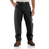 Kalhoty Carhartt - B01BLK  Duck Double Front Logger Pant