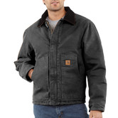 Bunda Carhartt - EJ022 BLK Duck Traditional Jacket