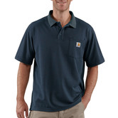 Carhartt triko - K570NVY Contractor's Work Pocket™ Polo