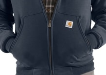 Mikina Carhartt - 100072 001 Colliston Brushed Fleecce Sherpa Lined Hooded  Swearshirt