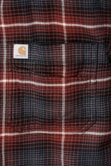 Košile carhartt - 103445 225 Slim Fit Hamilton Plaid longs leeve Shirt