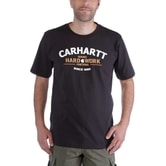 Carhartt triko -103406 001 Worwear Graphic Hard Work S-Sleve T-shirt