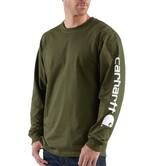 Carhartt triko - EK231ARG Long-Sleeve Graphic Logo T-Shirt