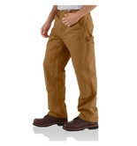 Kalhoty Carhartt - EB136BRN  Double Front Work Pant