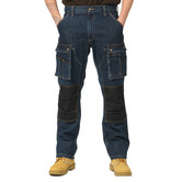 Carhartt jeans - EB229DKW - Denim Multi Pocket Tech Pant