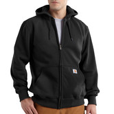 Mikina Carhartt - 100614BLK  Paxton heavyweight Hooded Zip-Front Swearshirt