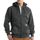 Mikina Carhartt - 100614CHH  Paxton heavyweight Hooded Zip-Front Swearshirt