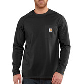 Carhartt triko - 100393 FORCE™ Cotton  L-Sleeve T-shirt Black