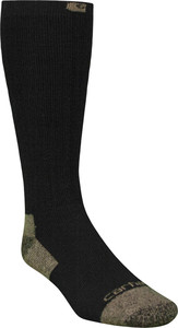 Ponožka Carhartt - A555-2 Steel-Toe Cotton Work Boot Sock BLK