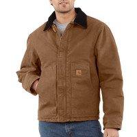 Bunda Carhartt - EJ022 BRN Duck Traditional Jacket