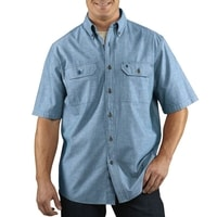 Košile carhartt - S200 499 Short-Sleeve Chambray Shirt