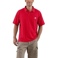 Carhartt triko - K570RED Contractor's Work Pocket™ Polo