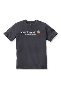 Carhartt triko -101214 Core Logo  S-Sleve T-shirt Carbon Heather