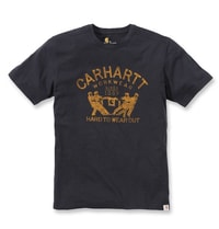 Carhartt triko -102097 Maddock Hard To Wear Out S-Sleve T-shirt Black
