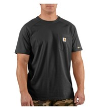 Carhartt triko - 100410 Men's FORCE™ Cotton S-Sleeve T-Shirt Černé