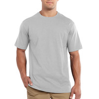 Carhartt triko -101124 Maddock S-Sleve T-shirt Heather Grey